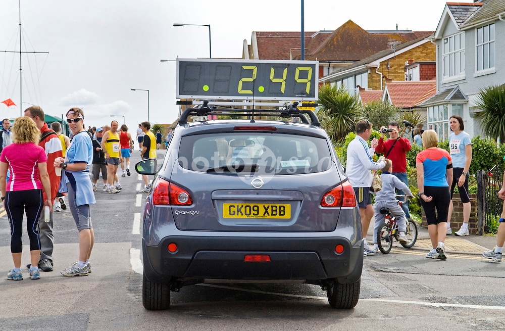 Pace car for Whitstable 10k run UK
