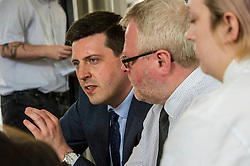 Pictured: Jamie Hepburn<br /> Deputy First Minister and Education Secretary John Swinney visited Edinburgh College today and was joned by Employability Minister Jamie Hepburn and Shirley-Anne Somerville, Minister for Further and Higher Education, to launch the Scottish Government's 15-24 Learner Journey Report.<br /> Ministers met with young people and key stakeholders and heard their views and experiences of the learner journey.<br /> <br /> Ger Harley | Edinburgh Elite Media