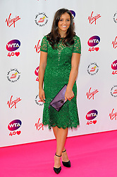 Wimbledon Party<br /> Laura Robson attends the annual pre-Wimbledon party at Kensington Roof Gardens,<br /> London, United Kingdom<br /> Thursday, 20th June 2013<br /> Picture by Chris  Joseph / i-Images