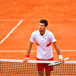Novak Djokovic of Serbia after winning during Day 6 of the French Open 2018 on June 1, 2018 in Paris, France. (Photo by Dave Winter/Icon Sport)