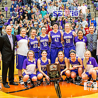 02-18-17 Berryville Sr. Girls vs. Huntsville (4A Districts Championship Game)