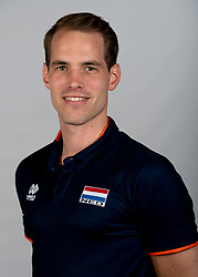 14-05-2018 NED: Team shoot Dutch volleyball team men, Arnhem<br /> Alewijn Huisman Fysio