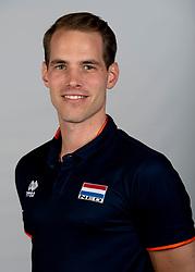 14-05-2018 NED: Team shoot Dutch volleyball team men, Arnhem<br /> Alewijn Huisman Fysio