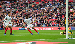England's Jermain Defoe scores. - Mandatory by-line: Alex James/JMP - 26/03/2017 - FOOTBALL - Wembley Stadium - London, England - England  v Lithuania - World Cup Qualifiers Group stage