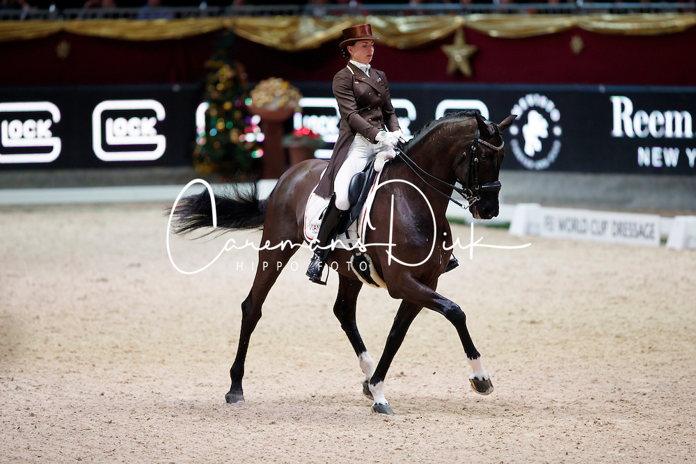 Logutenkova Inna, (UKR), Don Gregorius<br /> MEVISTO Amadeus Horse Indoor Salzburg<br /> &copy; Hippo Foto - Stefan Lafrentz<br /> 11-12-2016