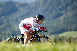 Eri Yonamine (JPN) at UCI Road World Championships 2018 - Elite Women's ITT, a 27.7 km individual time trial in Innsbruck, Austria on September 25, 2018. Photo by Chris Auld/velofocus.com