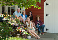 McLaughlin family photo session.  ©2014 Karen Bobotas Photographer
