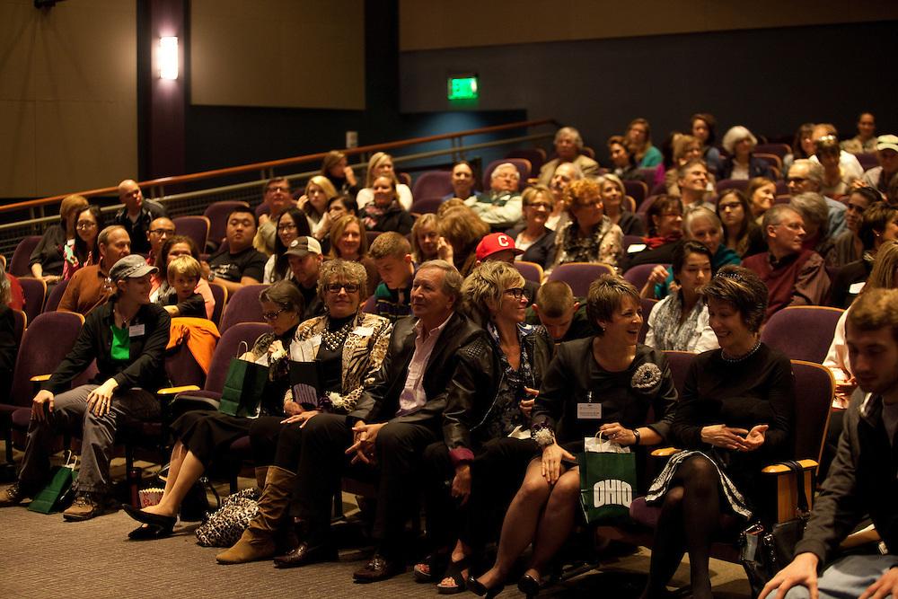 Women in Philanthropy of Ohio University documentary premier at Baker Center Theater on November 6, 2013.