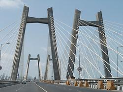Sea Link, new toll road in Mumbai.