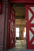 Acme Machine and Needle Co. Franklin Mill restoration project with Bonnette, Page and Stone.  ©2016 Karen Bobotas Photographer