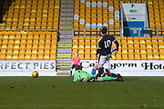 Craig Wighton of Dundee rounds St Johnstone's Zander Clark to score his first goal since coming back from intury - St Johnstone v Dundee in the SPFL development league at McDiarmid Park, Perth<br /> <br />  - &copy; David Young - www.davidyoungphoto.co.uk - email: davidyoungphoto@gmail.com