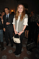 DAISY DONOVAN at a party to celebrate the publication of Top Tips For Girls by Kate Reardon held at Claridge's, Brook Street, London on 28th January 2008.<br />