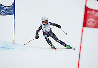 Francis Piche Giant Slalom Mens U12 on Tiger Saturday, March 14, 2015.   ©2015 Karen Bobotas Photographer