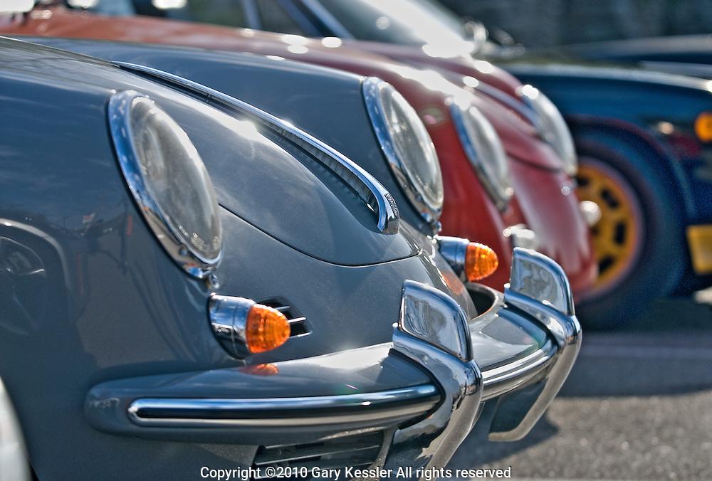 Porsche 356 front end line up