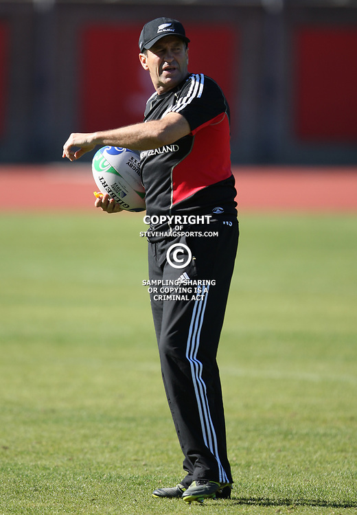 PORT ELIZABETH, SOUTH AFRICA - AUGUST 16, Wayne Smith Assistant coach during the New Zealand All Blacks training session at Xerox Arena on August 16, 2011 in Port Elizabeth, South Africa<br /> Photo by Steve Haag / Gallo Images