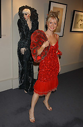 Former TV presenter ESTHER MCVEY at a private view of fashion designer Lindka Cierach's Couture Dresses drawn by Trudy Good held at the Belgravia Gallery, 45 Albemarle Street, London on 21st September 2005.<br /><br />NON EXCLUSIVE - WORLD RIGHTS