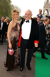 MR & MRS ROLF SACHS at the NSPCC's Dream Auction held at The Royal Albert Hall, London on 9th May 2006.<br />