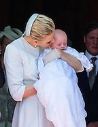 Monaco Royal Twins Baptism