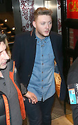 11.DECEMBER.2012. LONDON<br /> <br /> JAMES ARTHUR LEAVING THE X FACTOR WRAP UP PARTY HELD AT THE HIPPODROME CASINO IN LEICESTER SQUARE, LONDON<br /> <br /> BYLINE: EDBIMAGEARCHIVE.CO.UK<br /> <br /> *THIS IMAGE IS STRICTLY FOR UK NEWSPAPERS AND MAGAZINES ONLY*<br /> *FOR WORLD WIDE SALES AND WEB USE PLEASE CONTACT EDBIMAGEARCHIVE - 0208 954 5968*