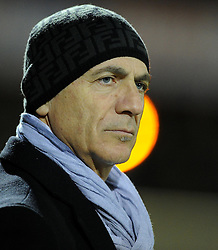 Watford Manager, Giuseppe Sannino - Photo mandatory by-line: Joe Meredith/JMP - Tel: Mobile: 07966 386802 18/02/2014 - SPORT - FOOTBALL - Yeovil - Huish Park - Yeovil Town v Watford - Sky Bet Championship
