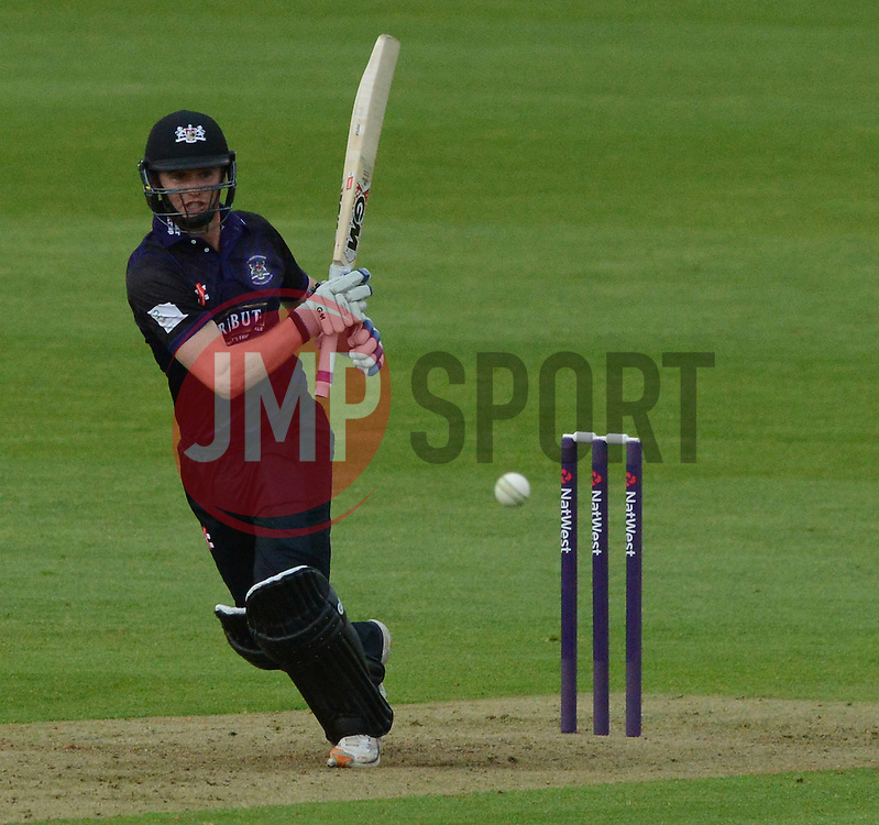 Ian Cockbain (capt) of Gloucestershire - Photo mandatory by-line: Dougie Allward/JMP - Mobile: 07966 386802 - 15/05/2015 - SPORT - Cricket - Bristol - Bristol County Ground - Gloucestershire County Cricket v Middlesex County Cricket - NatWest T20 Blast