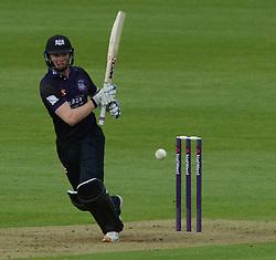 Ian Cockbain (capt) of Gloucestershire - Photo mandatory by-line: Dougie Allward/JMP - Mobile: 07966 386802 - 15/05/2015 - SPORT - Cricket - Bristol - Bristol County Ground - Gloucestershire County Cricket v Middlesex County Cricket - NatWest T20 Blast