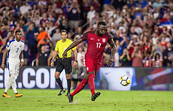 October 6, 2017 - Orlando, Florida, United States - Orlando, FL - Friday Oct. 06, 2017: Jozy Altidore during a 2018 FIFA World Cup Qualifier between the men's national teams of the United States (USA) and Panama (PAN) at Orlando City Stadium. (Credit Image: © Mark Thorstenson/ISIPhotos via ZUMA Wire)