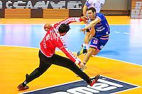 Leo Leboulaire - 01.04.2015 - Toulouse / Cesson Rennes - 19eme journee de Division 1<br />Photo : Manuel Blondeau / Icon Sport