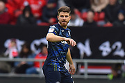 Gaetano Berardi (28) of Leeds United during the EFL Sky Bet Championship match between Bristol City and Leeds United at Ashton Gate, Bristol, England on 9 March 2019.