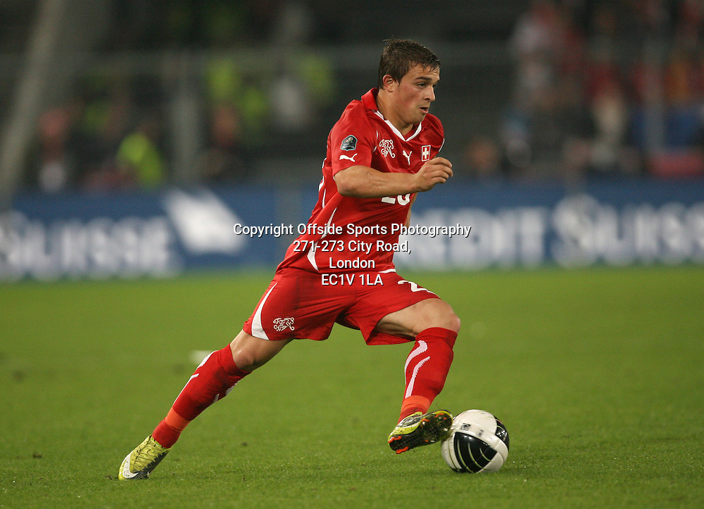 07/09/2010 - UEFA Euro 2012 Qualifying (Group G) - Switzerland vs. England - Xherdan Shaqiri of Switzerland - Photo: Simon Stacpoole / Offside.