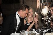 TOM HIDDLESTON; AMANDA NEVILL Luminous -Celebrating British Film and British Film Talent,  BFI gala dinner & auction. Guildhall. City of London. 6 October 2015.