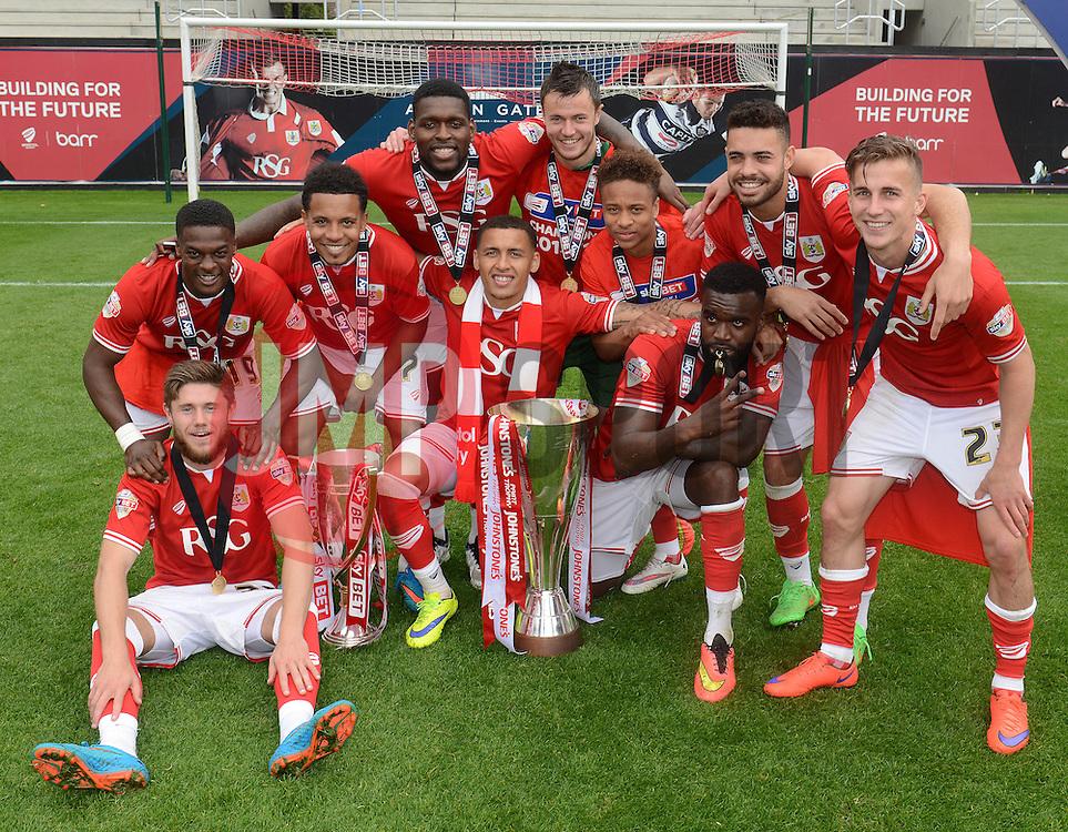 - Photo mandatory by-line: Dougie Allward/JMP - Mobile: 07966 386802 - 03/05/2015 - SPORT - Football - Bristol - Ashton Gate - Bristol City v Walsall - Sky Bet League One