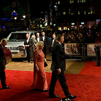 London November 17th   Her Majesty the Queen accompanied by HRH The Duke of Edinburgh  attends the Royal Premiere of A Bunch of Amateurs  at Odeon Cinema in Leicester Square London on Nov 17 2008...Please telephone : +44 (0)845 0506211 for usage fees .***Licence Fee's Apply To All Image Use***.IMMEDIATE CONFIRMATION OF USAGE REQUIRED.*Unbylined uses will incur an additional discretionary fee!*.XianPix Pictures  Agency  tel +44 (0) 845 050 6211 e-mail sales@xianpix.com www.xianpix.com