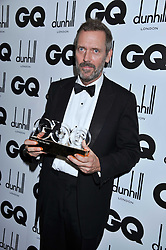 Music of The Year winner HUGH LAURIE at the GQ Men of the Year 2011 Awards dinner held at The Royal Opera House, Covent Garden, London on 6th September 2011.