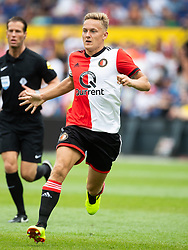 Jens Toornstra of Feyenoord during the Pre-season Friendly match between Feyenoord Rotterdam and Levante UD at the Kuip on July 29, 2018 in Rotterdam, The Netherlands