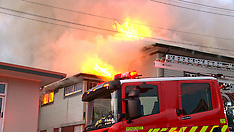 Auckland-Fire in classroom at Richmond Road School