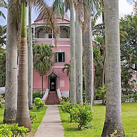 The Public Library once used as a Jail located downtown Nassau.