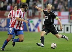 21.10.2010, Estadio Vicente Calderon, Madrid, ESP, UEFA EL, Atletico de Madrid vs Rosemborg, im Bild Rosenborg's. EXPA Pictures © 2010, PhotoCredit: EXPA/ Alterphotos/ Acero +++++ ATTENTION - OUT OF SPAIN / ESP +++++