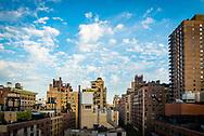 Daytime view of Manhattan cityscape