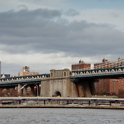 Empire State Building and the Manhattan Bridge