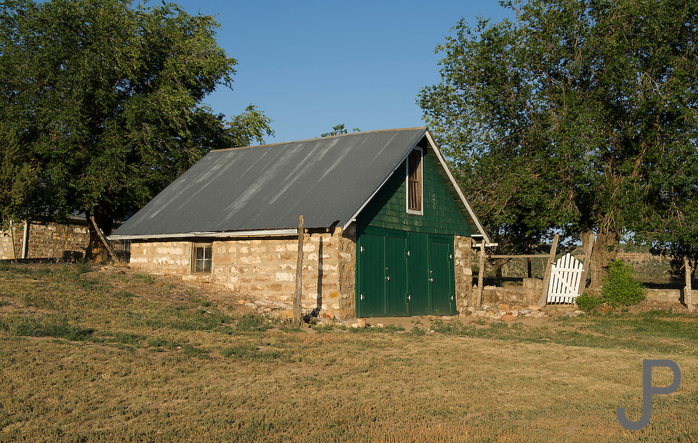 Small outbuilding at the Dunlop Ranch in southeastern Colorado that is still in use today.