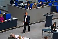 DEU, Deutschland, Germany, Berlin, 01.02.2018: AfD-Fraktionsgeschäftsführer Bernd Baumann (MdB, Alternative für Deutschland, AfD) bei einer Rede im Deutschen Bundestag.