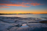 Sunrise on Lake Superior<br />Rossport<br />Ontario<br />Canada