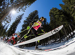 FOURCADE Martin of France competes during Men 12.5 km Mass Start competition of the e.on IBU Biathlon World Cup on Sunday, March 9, 2014 in Pokljuka, Slovenia. Photo by Vid Ponikvar / Sportida