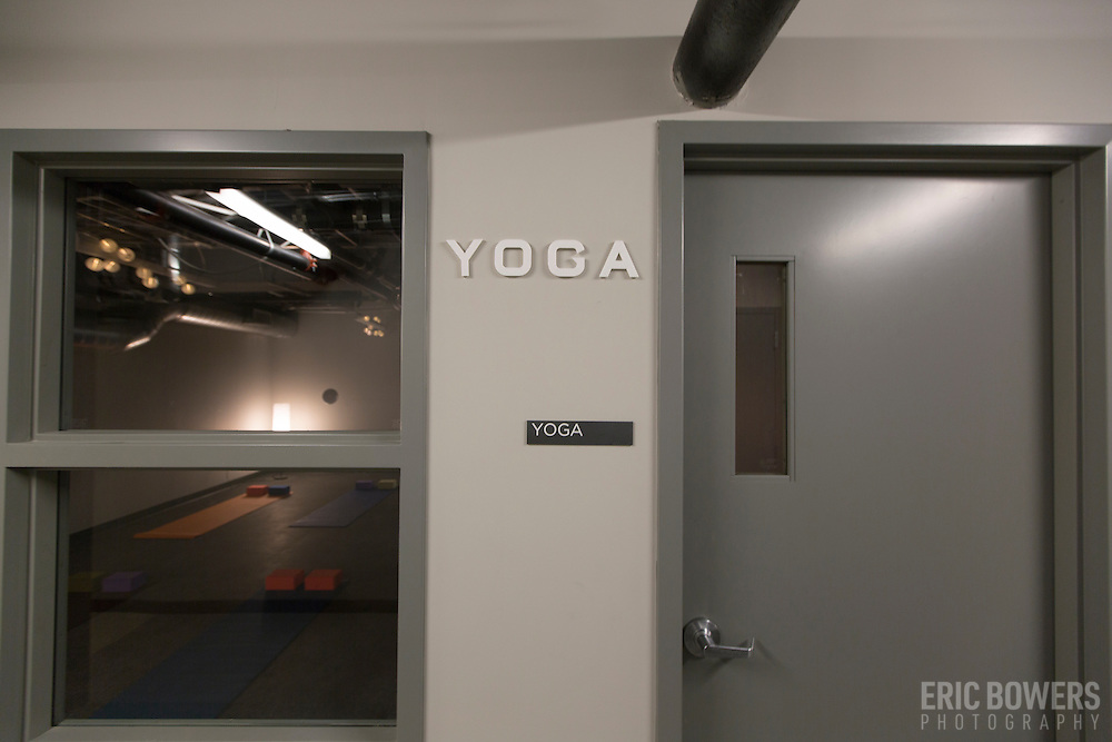 Yoga Room at Roaster's Block Apartments
