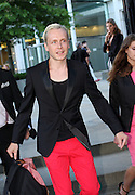 30.JULY.2013. LONDON<br /> <br /> CELEBRITIES ATTEND THE 'HUGO: RED NEVER FOLLOWS' EXHIBITION LAUNCH PARTY AT THE SAATCHI GALLERY, LONDON<br /> <br /> BYLINE: EDBIMAGEARCHIVE.CO.UK<br /> <br /> *THIS IMAGE IS STRICTLY FOR UK NEWSPAPERS AND MAGAZINES ONLY*<br /> *FOR WORLD WIDE SALES AND WEB USE PLEASE CONTACT EDBIMAGEARCHIVE - 0208 954 5968*