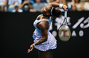 Serena Williams of the United States in action during her first round match at the 2020 Australian Open, WTA Grand Slam tennis tournament on January 20, 2020 at Melbourne Park in Melbourne, Australia - Photo Rob Prange / Spain ProSportsImages / DPPI / ProSportsImages / DPPI