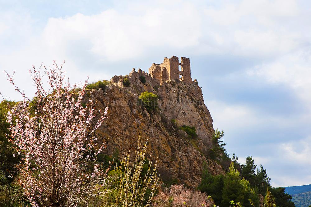 Chateau de Padern, Padern, Aude, France