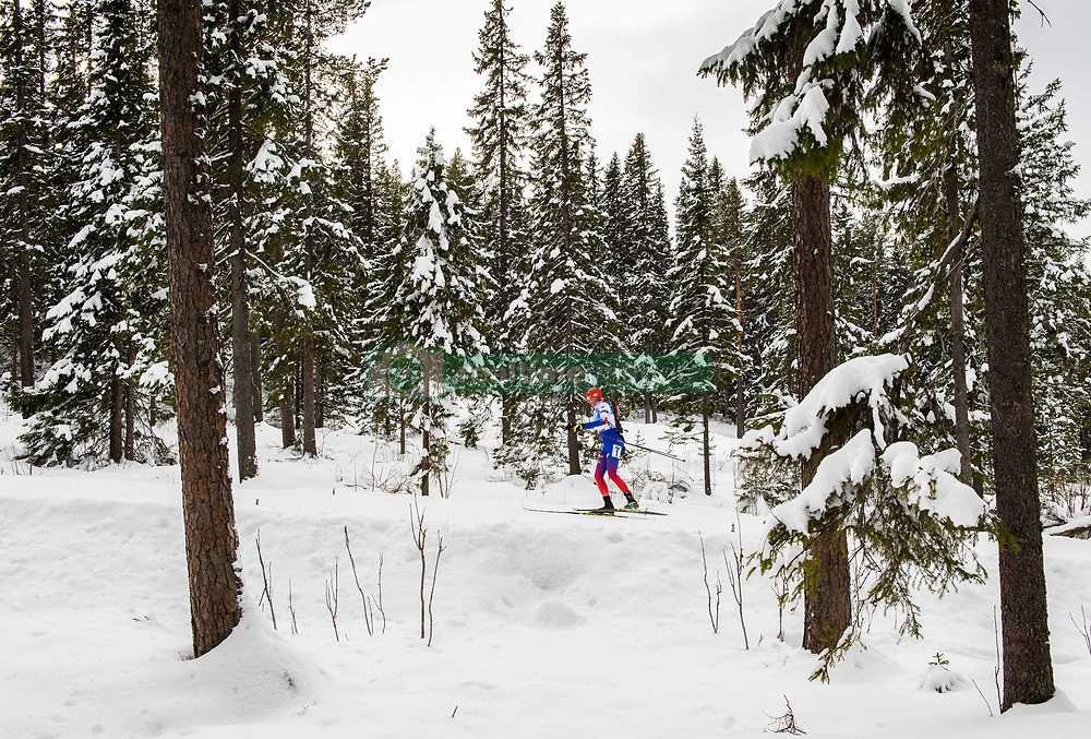 March 10, 2019 - –Stersund, Sweden - 190310 Anastasiya Kuzmina of Slovakia during the Women's 10 km Pursuit during the IBU World Championships Biathlon on March 10, 2019 in Östersund..Photo: Petter Arvidson / BILDBYRÃ…N / kod PA / 92254 (Credit Image: © Petter Arvidson/Bildbyran via ZUMA Press)