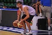 Sassari 15 Agosto 2012 - qualificazioni Eurobasket 2013 - allenamento<br /> Nella Foto : DAVID CHIOTTI<br /> Foto Ciamillo